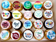 Edible Print Mini Cupcakes (Box of 20)