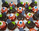 Halloween Cupcakes - Grave Evil (Box of 12) - Cuppacakes - Singapore's Very Own Cupcakes Shop