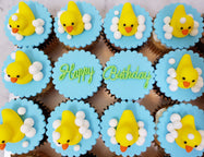 Yellow Duckie Cupcakes (Box of 12) - Cuppacakes - Singapore's Very Own Cupcakes Shop