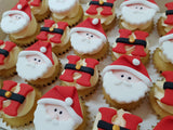Christmas Mini Cupcakes (Box of 20) - Ho Ho Ho!