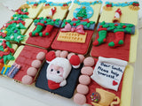 Christmas Cupcakes (Set of 12) - Santa In The House