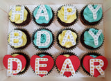 Alphabet Cupcakes (Box of 12)