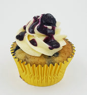 Blueberry Cheese Cupcakes (Box of 12)