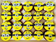 Minion Mini Cupcakes (Box of 20)