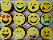 Emoji Cupcakes (Box of 12)