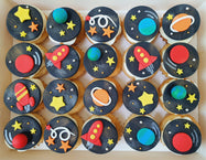 Galaxy Mini Cupcakes (Box of 20)