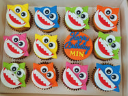 Baby Shark Medley Cupcakes (Box of 12)