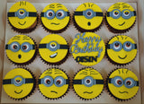 Minion Cupcakes (Box of 12)