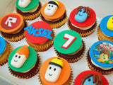 Roblox Themed Cupcakes (Box of 12)
