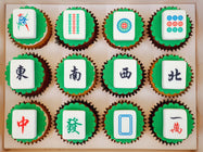 Mahjong Cupcakes (Box of 12)
