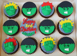 Superhero Cupcakes (Box of 12)