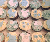 Baby Full Month Cupcakes (Box of 12)