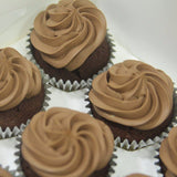 Bliss Choco (Dark Chocolate) Cupcakes (Box of 12) - Cuppacakes - Singapore's Very Own Cupcakes Shop