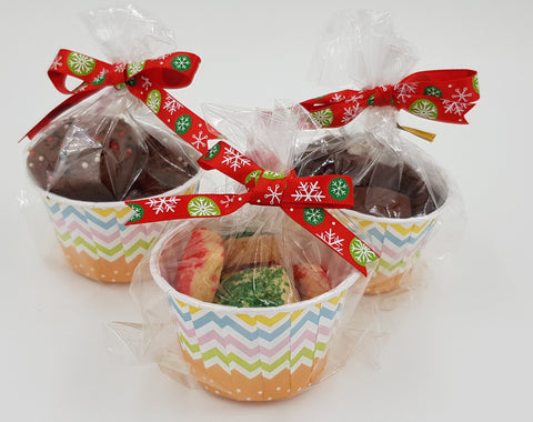 Christmas Shortbread and Brownie Bites (Set of 12)