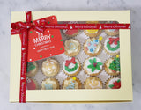 Christmas Mini Cupcakes (Box of 20) - O Christmas Tree - Cuppacakes - Singapore's Very Own Cupcakes Shop