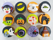 Halloween Cupcakes - Hell-O-Ween (Box of 12) - Cuppacakes - Singapore's Very Own Cupcakes Shop
