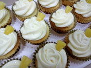 Pina Colada Cupcakes (Box of 12) - Cuppacakes - Singapore's Very Own Cupcakes Shop