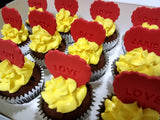 For someone you love (Box of 12) - Cuppacakes - Singapore's Very Own Cupcakes Shop
