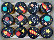 Galaxy Cupcakes (Box of 12)