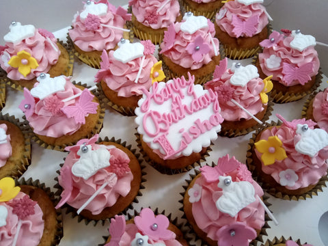 Princess Cupcakes (Box of 12) - Cuppacakes - Singapore's Very Own Cupcakes Shop