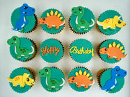 Dinosaur Cupcakes (Box of 12) - Cuppacakes - Singapore's Very Own Cupcakes Shop
