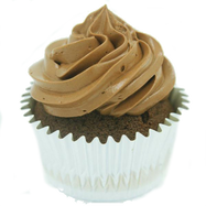 Bliss Choco (Dark Chocolate) Cupcakes (Box of 12)