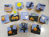 Halloween Cupcakes - Night of Halloween (Box of 12) - Cuppacakes - Singapore's Very Own Cupcakes Shop