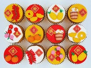 CNY Cupcakes - Bountiful New Year