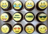 Edible Print Cupcakes (Box of 12) - Cuppacakes - Singapore's Very Own Cupcakes Shop
