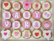 Baby Shower Mini Cupcakes (Box of 20)