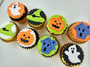 Halloween Cupcakes - Ghoul and friends