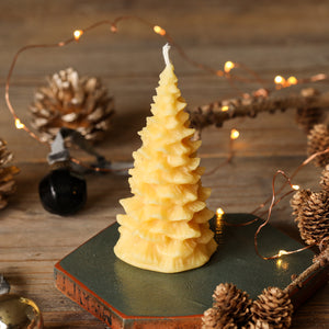 Beeswax Christmas Tree - 100% pure beeswax