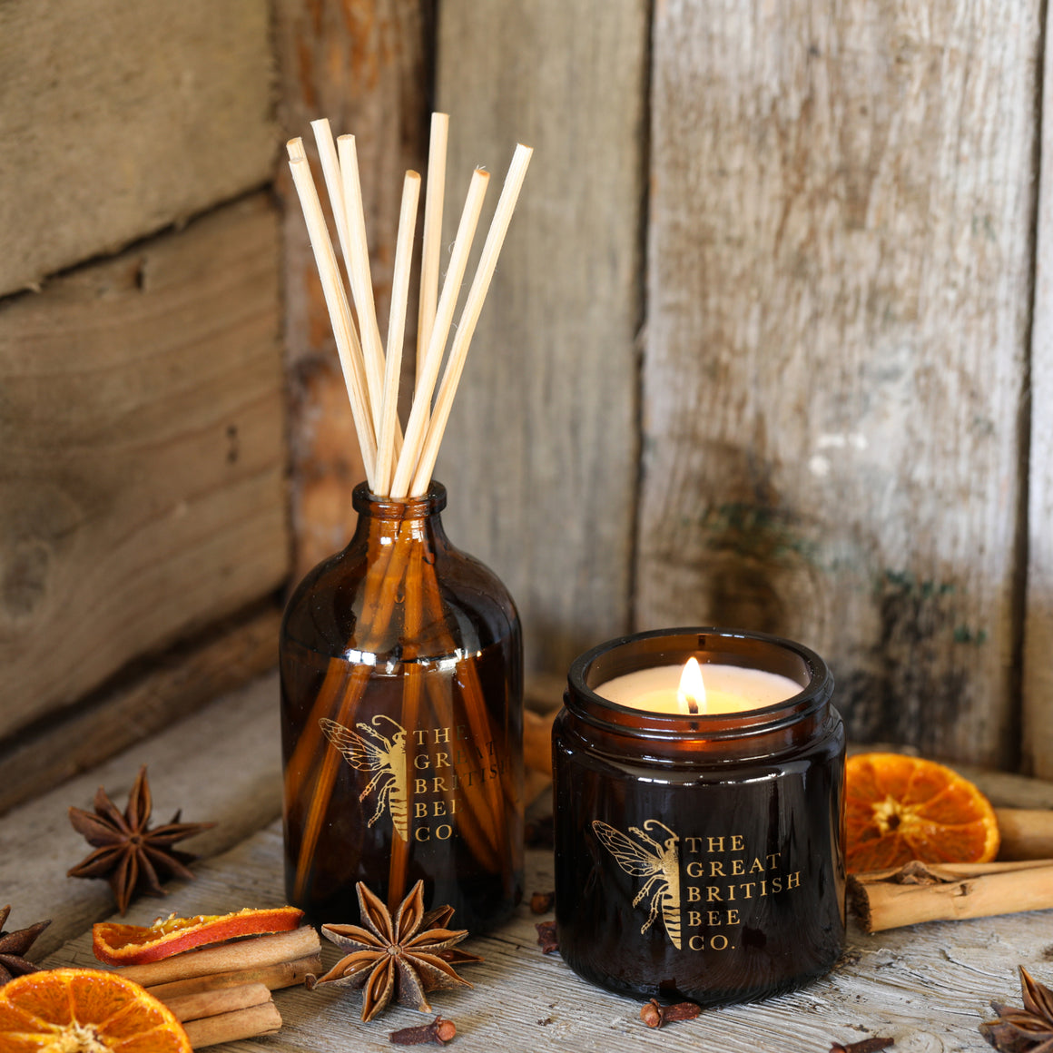 Fragrance Gift Set -  Candle and Reed Diffuser