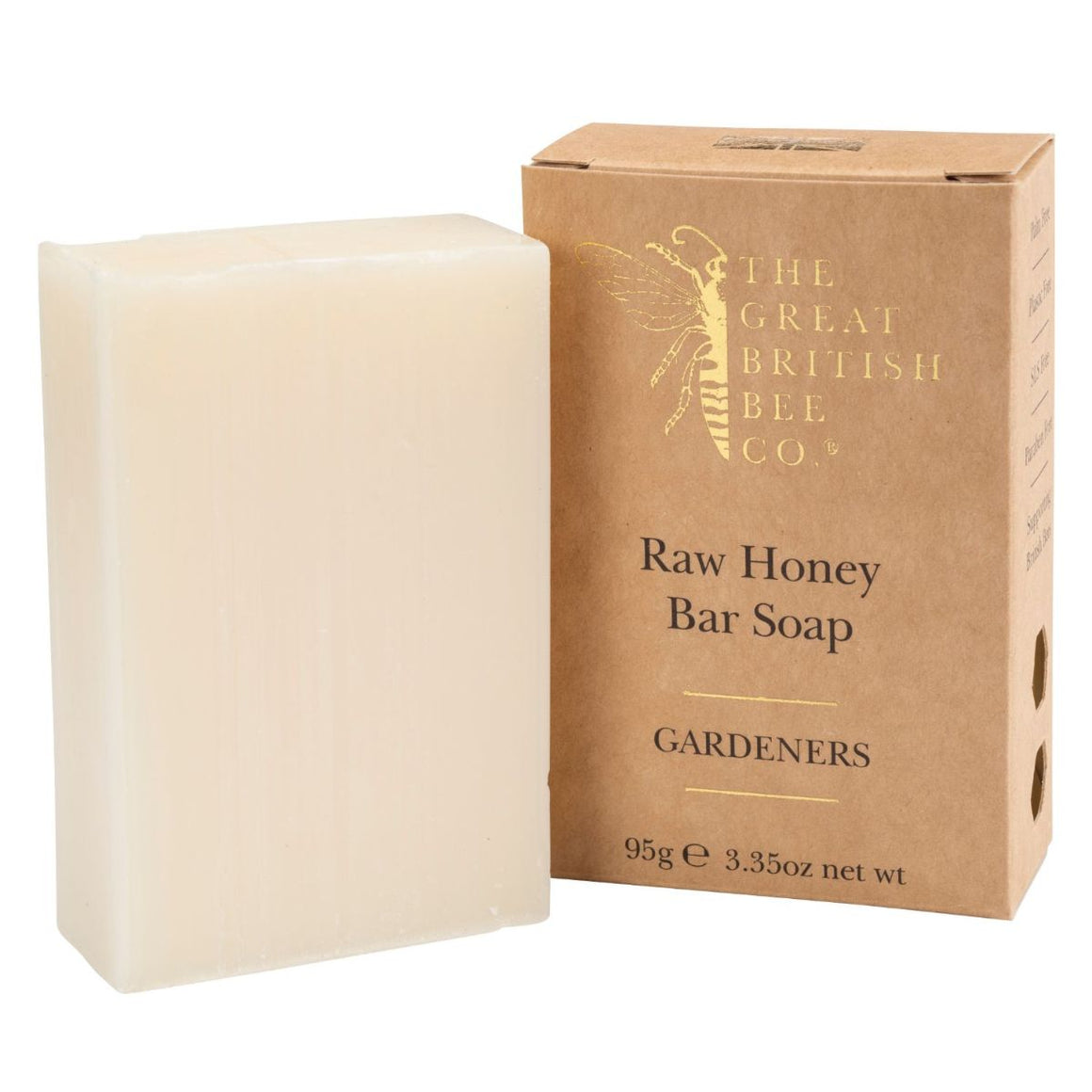 Raw Honey Bar Soap 95g - Gardeners