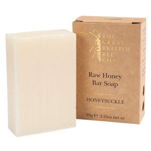 Raw Honey Bar Soap 95g - Honeysuckle