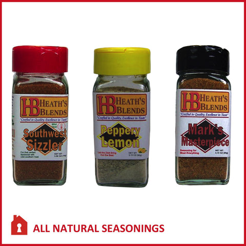 All Natural seasonings | HEATH'S BLENDS 3 FSH