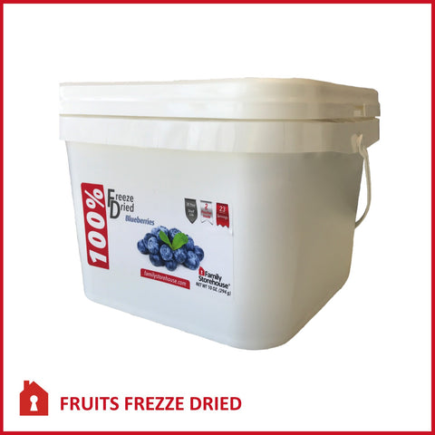 Freeze Dried Blueberries Food Storage