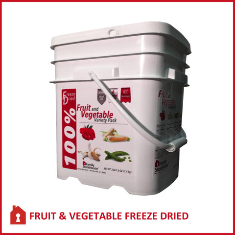 Fruit and Vegetable Variety Pail Main