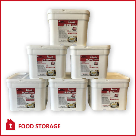 Food Storage 6 Month Supply