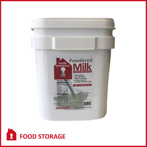 Food Storage Powdered Milk