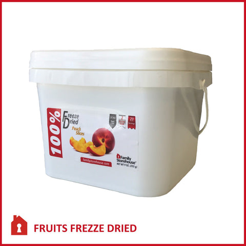 Freeze Dried Peaches Food Storage