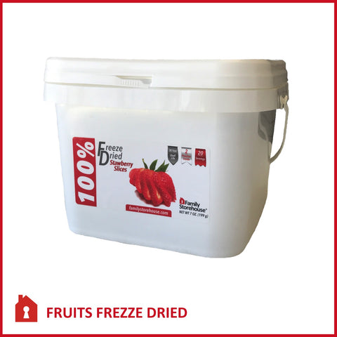 Freeze Dried  |  Strawberries Pail
