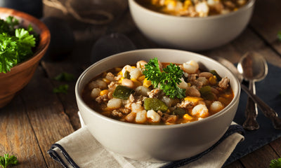 Food Storage White Bean Chili