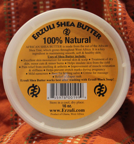 Erzuli Shea Butter Tub - 8oz