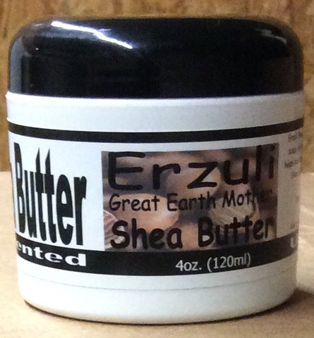 Erzuli Shea Butter Jar - Unscented (select size)