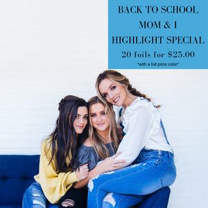 Back to School Mom & I Highlight Special