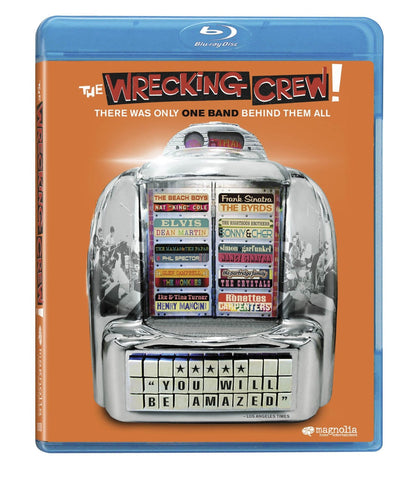 WRECKING CREW DOCUMENTARY IN BLU-RAY (NTSC version) Region Restricted to North America