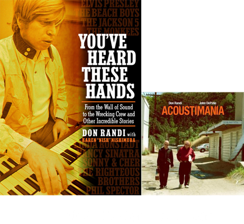 Don Randi Combo- Book & CD