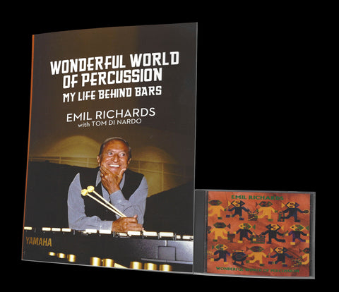 Wonderful World of Percussion My Life Behind Bars with CD by Emil Richards