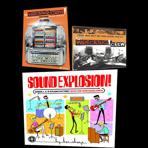 The Triple Zinger_DVD, HARD Cover of Sound Explosion and Soundtrack Take 1
